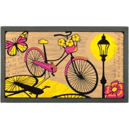 Fußmatte Fahrrad