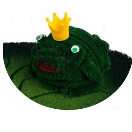 Fußmatte Froschkönig Kokos detail