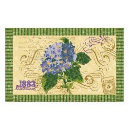 Fußmatte Gallery Hortensien Postkarte