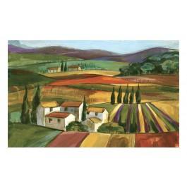 Fußmatte Gallery Lavendelfelder