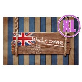 Fußmatte Gallery Welcome England XL