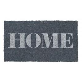Fußmatte Home grau Kokos
