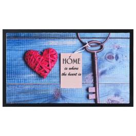 Fußmatte Image Key Heart
