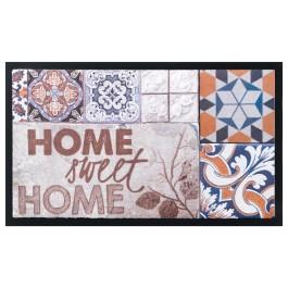 Fußmatte Image Tiles Home