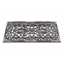 Fußmatte Inca Silber rechteckig