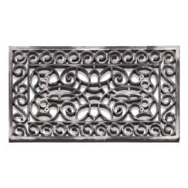 Fußmatte Inca Silber