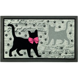 Fußmatte Katzenpfoten