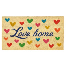 Fussmatte Love Home Heart