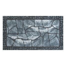 Fußmatte Master Flagged floor grau Stufenmatte 45 cm x 75 cm
