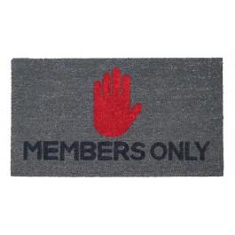 Fußmatte Members Only Kokos