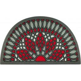 Fußmatte Ornament Kathedrale Besucheransicht