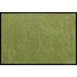 Fußmatte Salonloewe Uni olivgrün rechteckig XXL