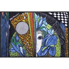 Fußmatte Salonloewe Blaue Blume