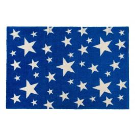 Fußmatte Stars on blue