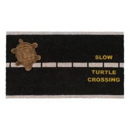 Fußmatte Turtle crossing Kokos
