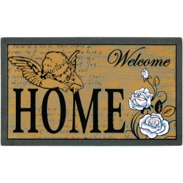 Fußmatte Welcome Home Angel