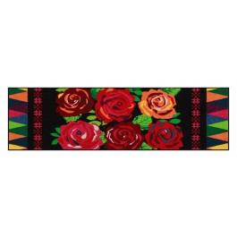 Fußmatte Salonloewe Design Beauty Roses 60cm x 180cm