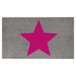 Fussmatte Big Star Pink