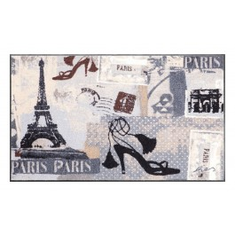 Fußmatte Salonloewe Design Bistro Paris 75cm x 120cm
