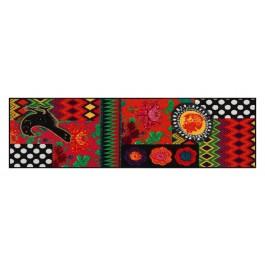 Fußmatte Salonloewe Design Black Beauty 60 cm x 180 cm