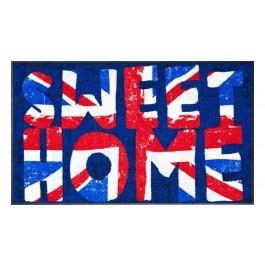 Fußmatte Salonloewe Design British Vintage 75cm x 120cm