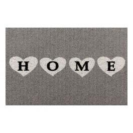 Fußmatte Clean Keeper Home Herzen grau