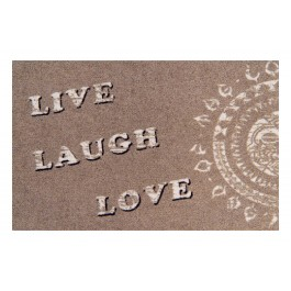 Fußmatte Clean Keeper live,laugh,love