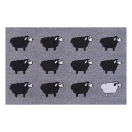 Fußmatte Clean Keeper Schafe black/white