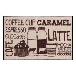 Fußmatte Salonloewe Coffeehouse Beige