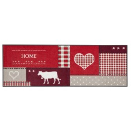 Fußmatte Salonloewe Design Country Home Red XXL