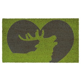 Fussmatte Deer Heart