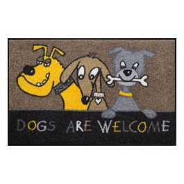 Fußmatte Salonloewe Design Dogs are Welcome