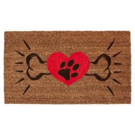 Fussmatte Dogs Heart