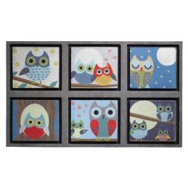 Fußmatte Eco Master owl life