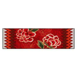 Fußmatte Salonloewe Design Farfalle e Fiori 60cm x 180cm