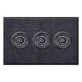 Fußmatte Salonloewe Design Finn Anthrazit 40 cm x 60 cm - 50 cm x 75 cm