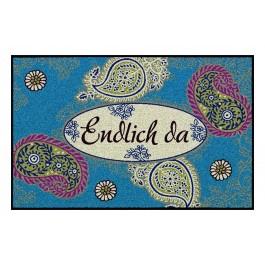 Fußmatte Salonloewe Design Folklore Style 50 cm x 75 cm