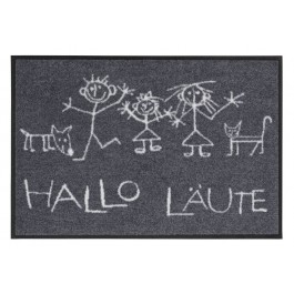 Fußmatte Salonloewe Design Hallo Läute