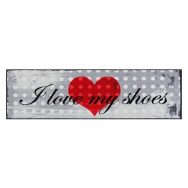 Fußmatte Salonloewe Design I love my shoe's 60cm x 180cm