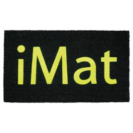 Fussmatte iMat Yellow