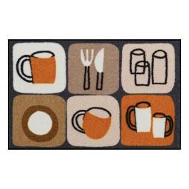 Fußmatte Salonloewe Design Kitchen Tiles 50cm x 75cm