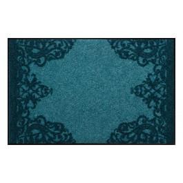 Fußmatte Salonloewe Design Leila Petrol 50 cm x 75 cm