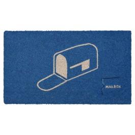 Fussmatte Mailbox Blue