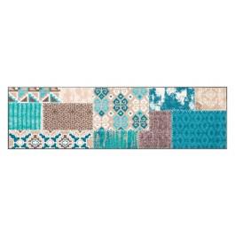 Fußmatte Salonloewe Design Marrakesch Emerald 60cm x 180cm