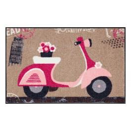 Fußmatte Salonloewe Design Pink Scooter
