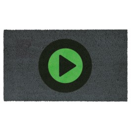 Fussmatte Play Symbol