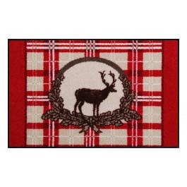 Fußmatte Salonloewe Design Red Deer 50cm x 75cm