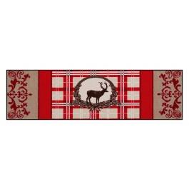 Fußmatte Salonloewe Design Red Deer 60cm x 180cm
