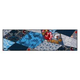 Fußmatte Salonloewe Design Rhombus Quilt 60cm x 180cm
