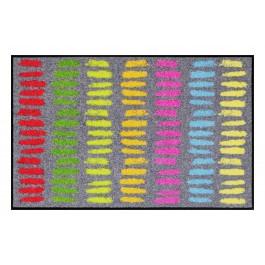 Fußmatte Salonloewe Broken Stripes colourful